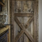 Den Entry Barn Door