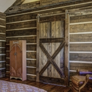 Guest Room Bathroom Barn Door