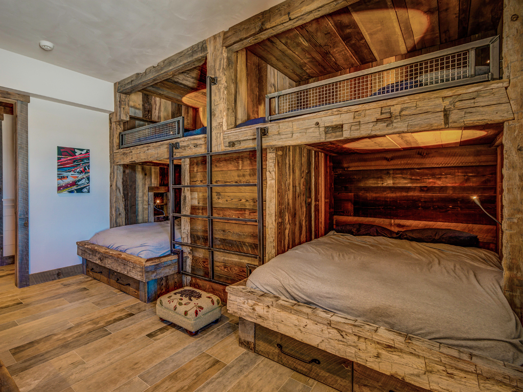 Bedroom design and decorating mt snow stratton southern vt Bunk bed boys room