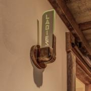 Ladies Sign Light, Vermont Interior Design